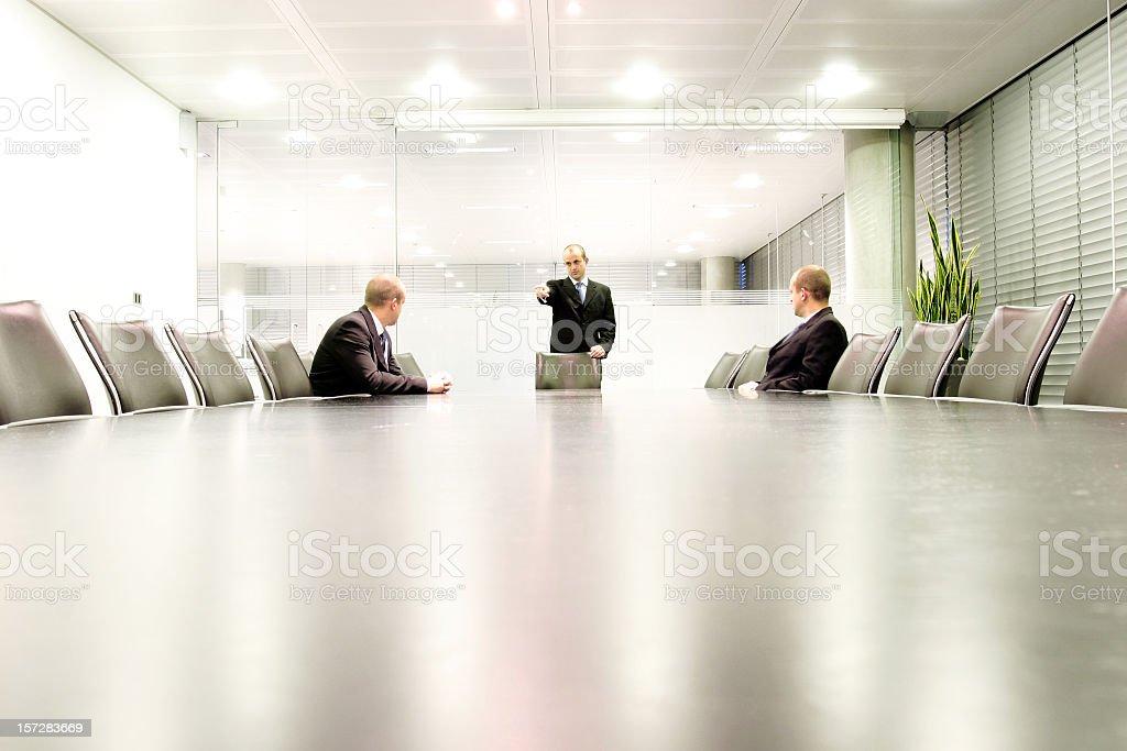Boardroom meet 2 royalty-free stock photo