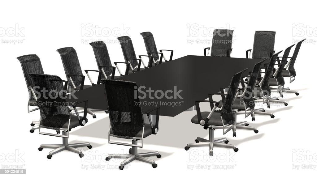 Sillas Sala De Juntas.Sala De Juntas Mesa De Conferencia Y Sala Con Sillas De Oficina De