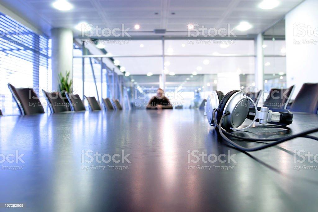 Boardroom music royalty-free stock photo