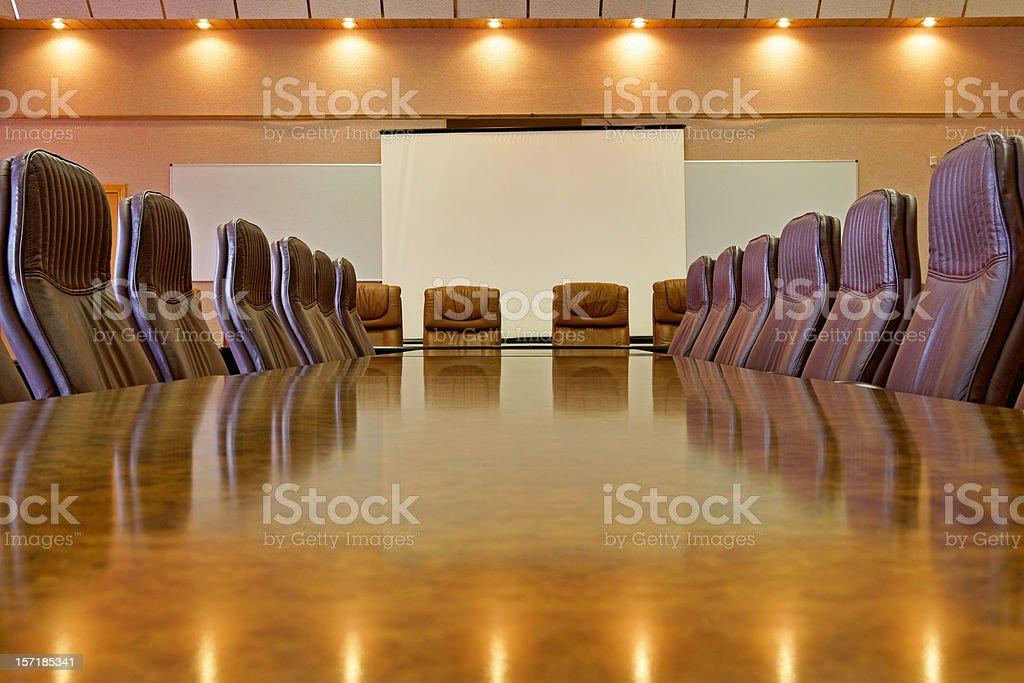Boardroom (16 Mpx) royalty-free stock photo