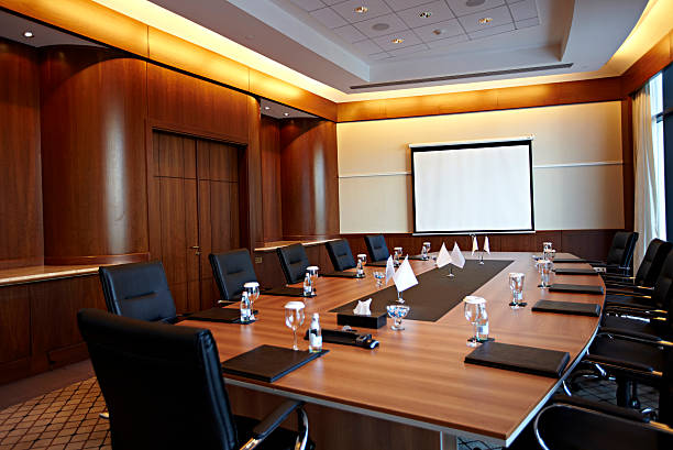 Boardroom stock photo