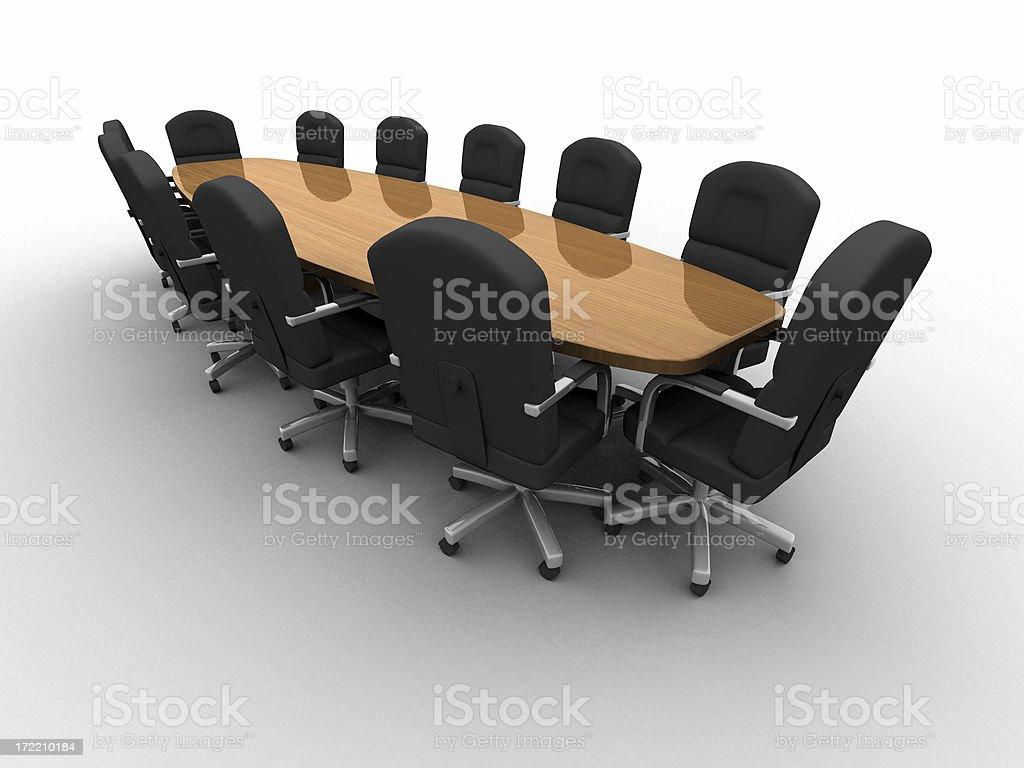 Boardroom Series 04 royalty-free stock photo