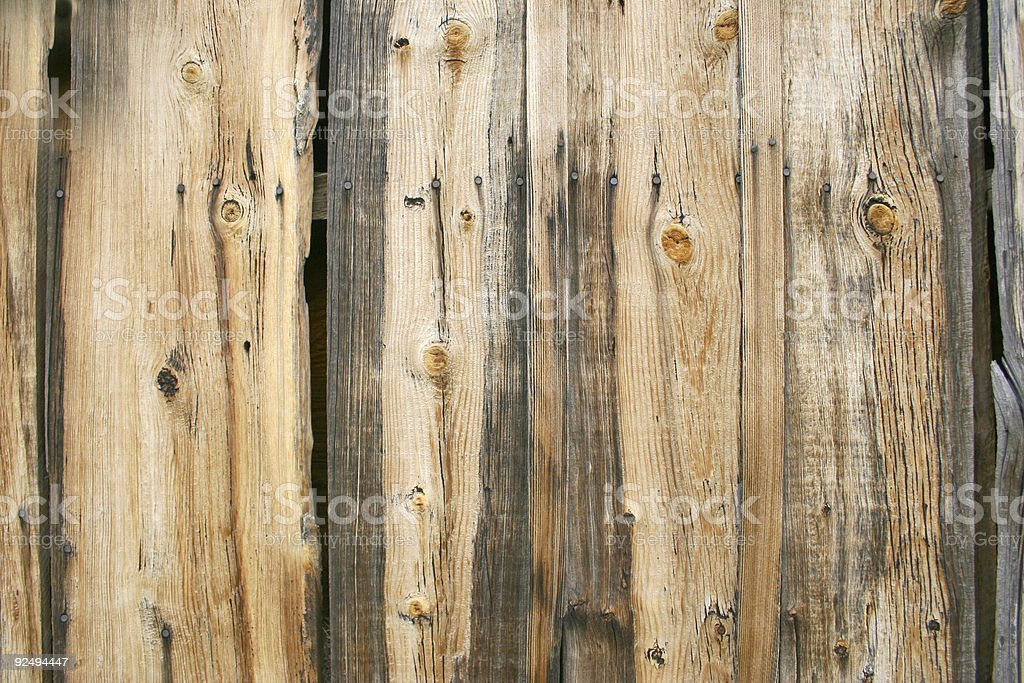 Boards on a Farm House royalty-free stock photo