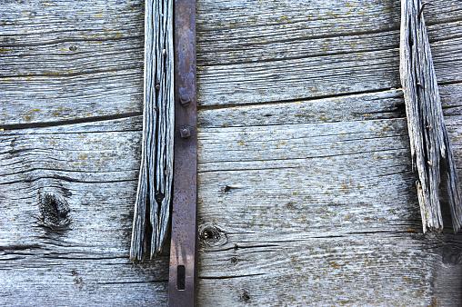 Platen Op Oude Huifkar Stockfoto en meer beelden van Achtergrond - Thema