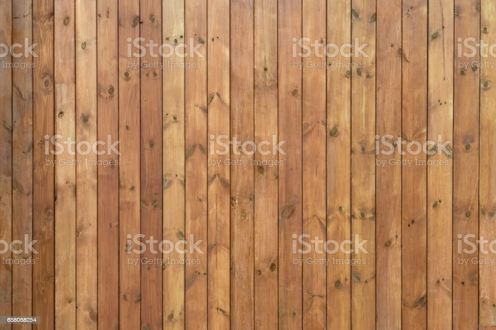 boards painted brown long stock photo