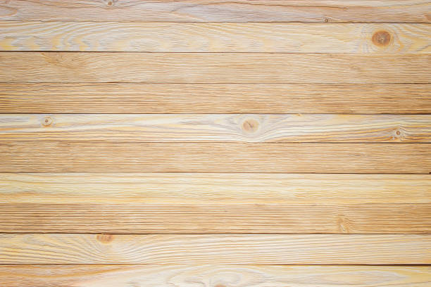 Boardwalk background. Texture of light wood table. Light floorboards, texture of the boards close-up. Woody background pine wood material stock pictures, royalty-free photos & images