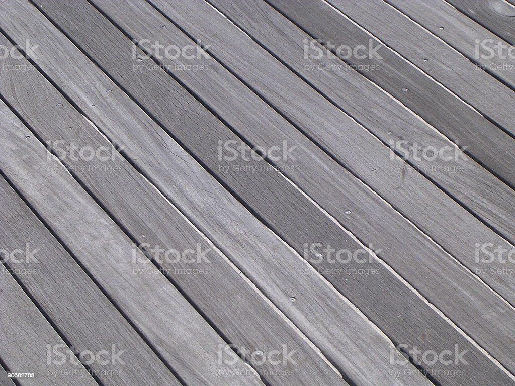 Boardwalk Pattern royalty-free stock photo