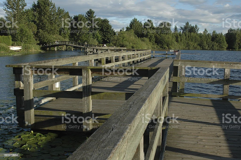 Boardwalk stock photo