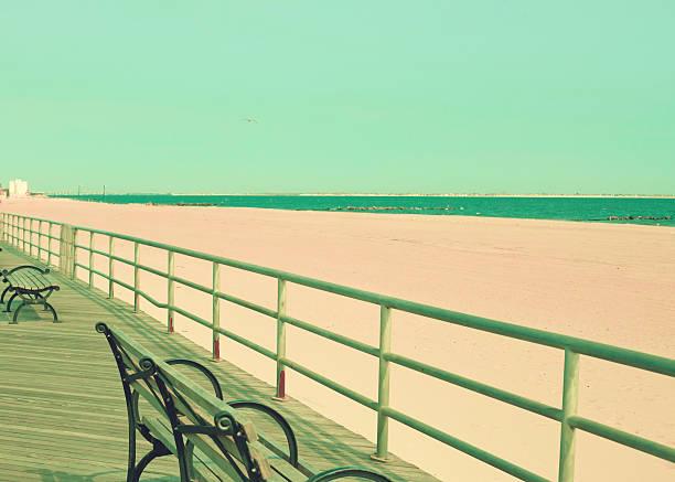 Boardwalk stock photo