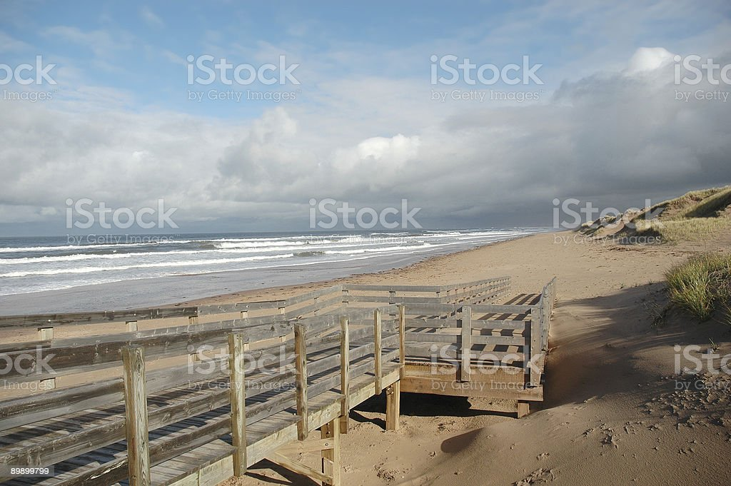 boardwalk royalty free stockfoto