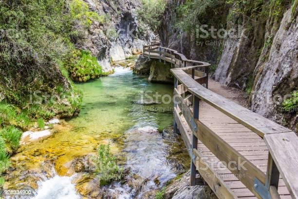 Photo of Boardwalk through Cerrada de Elias gorge in Cazorla National Park, Spain