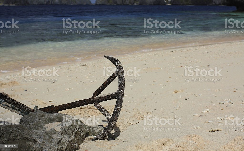 Boat Anchor royalty-free stock photo
