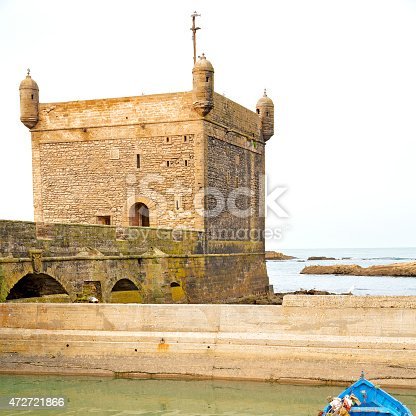 istock boat and sea in africa morocco old 472721866