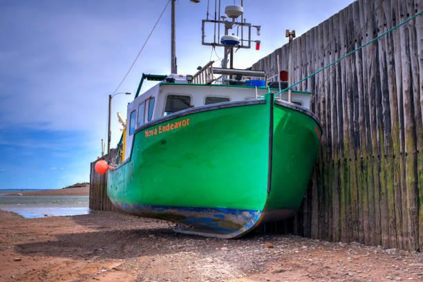 Boot bei Low Tide in Parrsboro – Foto
