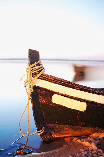 Boot in Dämmerung – Foto