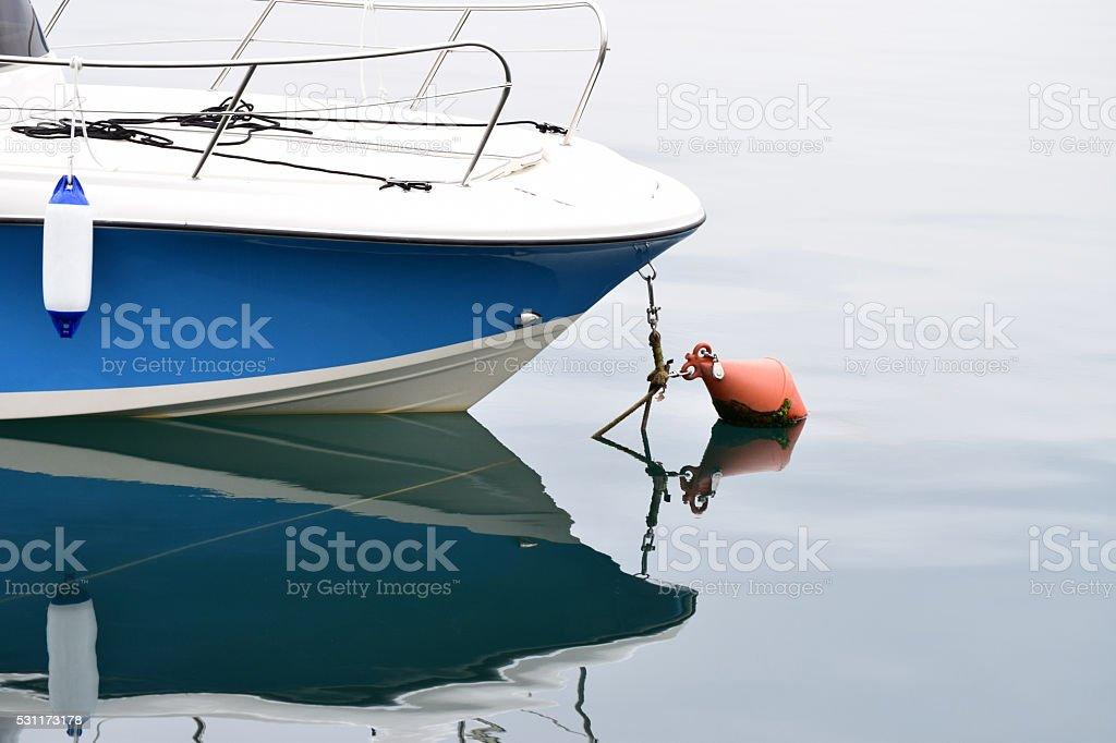 Boat bow stock photo