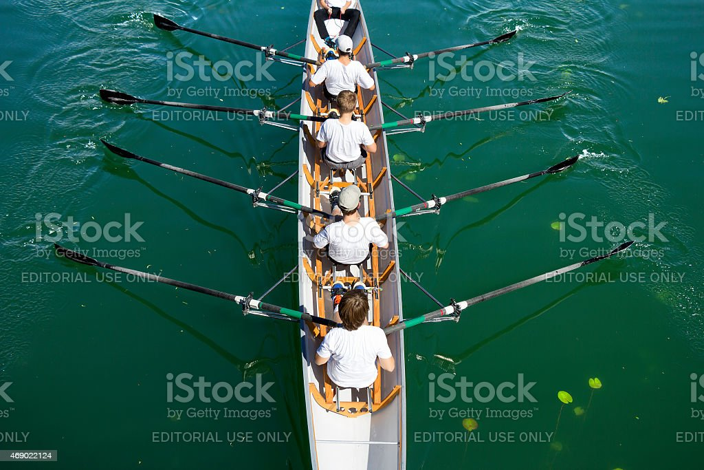 Boot coxed four – Foto