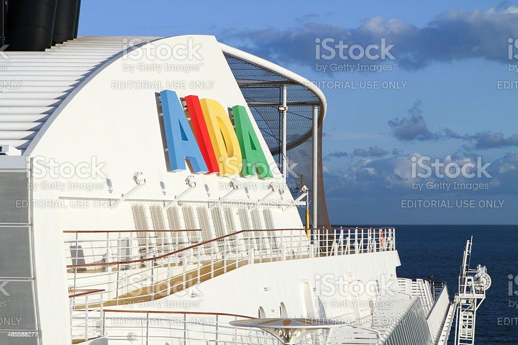 AIDA boat cruise stock photo