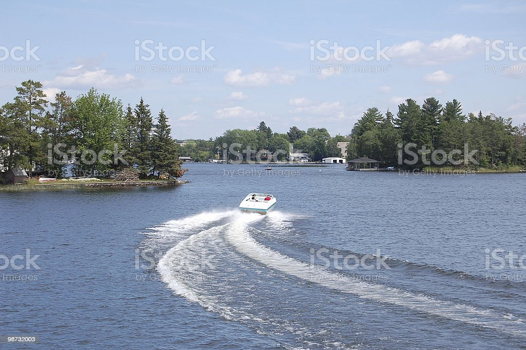 boat cruise royalty-free stock photo