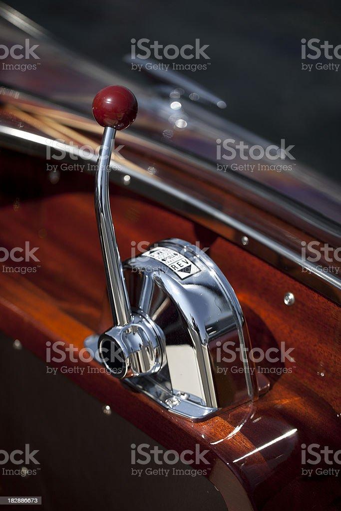 boat dashboard royalty-free stock photo