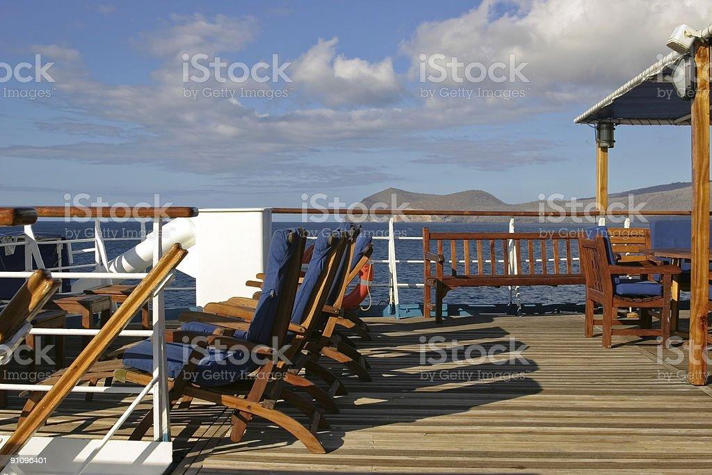Stupendous Boat Deck Lounge Chairs Stock Photo Download Image Now Creativecarmelina Interior Chair Design Creativecarmelinacom