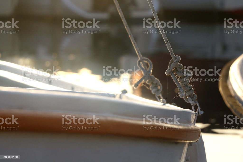 Boat Detail royalty-free stock photo
