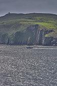 The shore's edge at DownPatrick Head, Mayo, Ireland