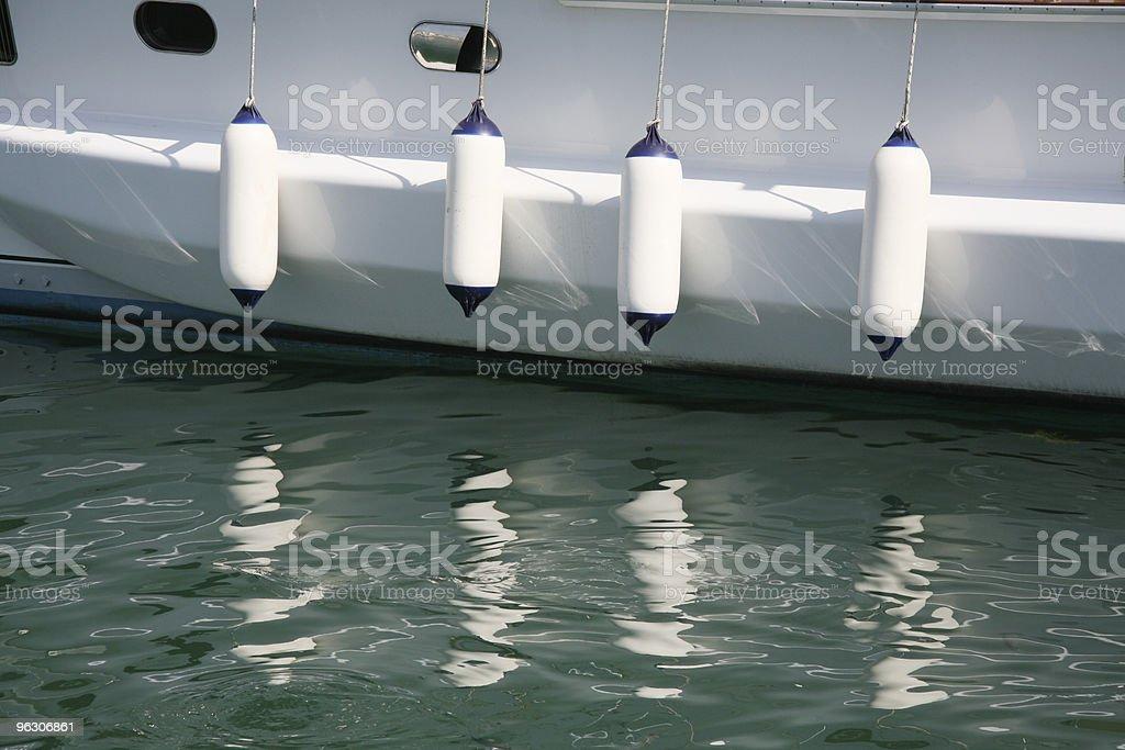 Boat Fender royalty-free stock photo