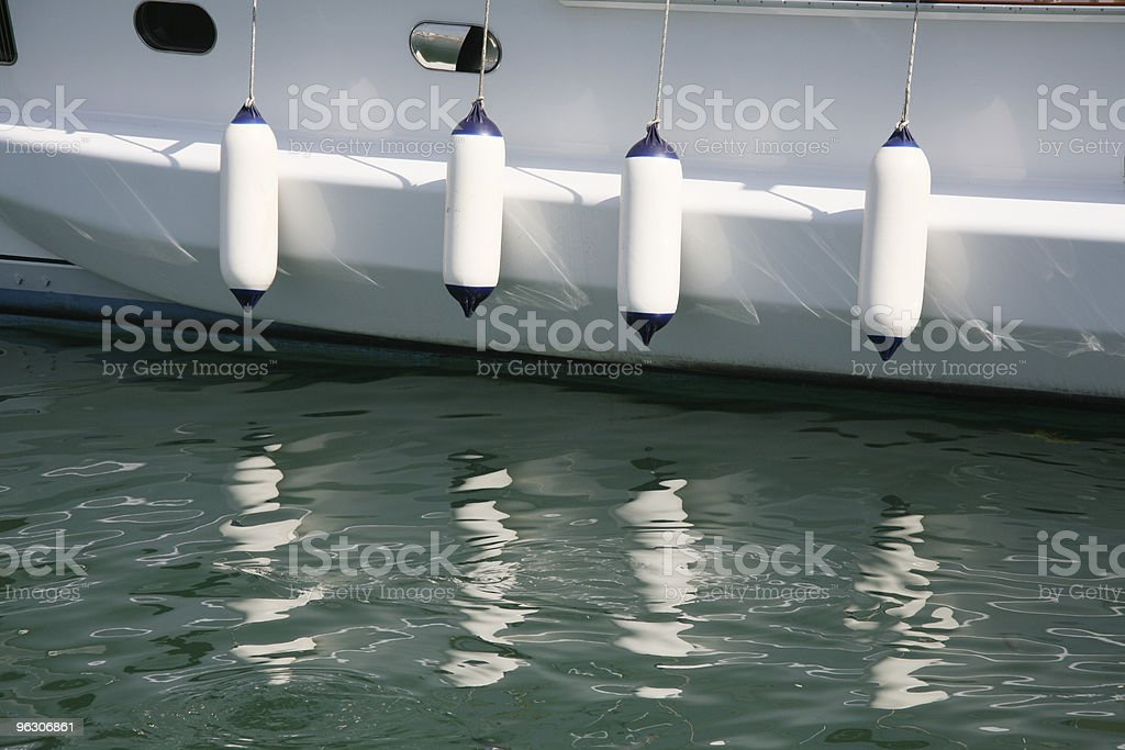 Boat Fender stock photo