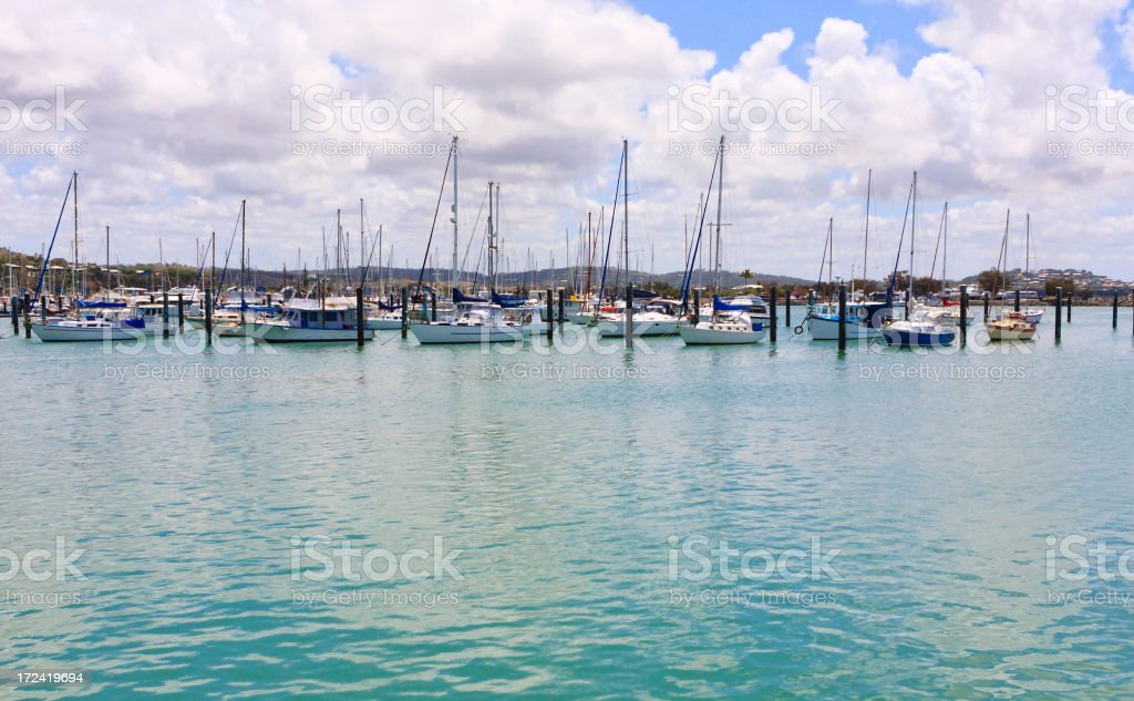 Boat Harbour royalty-free stock photo