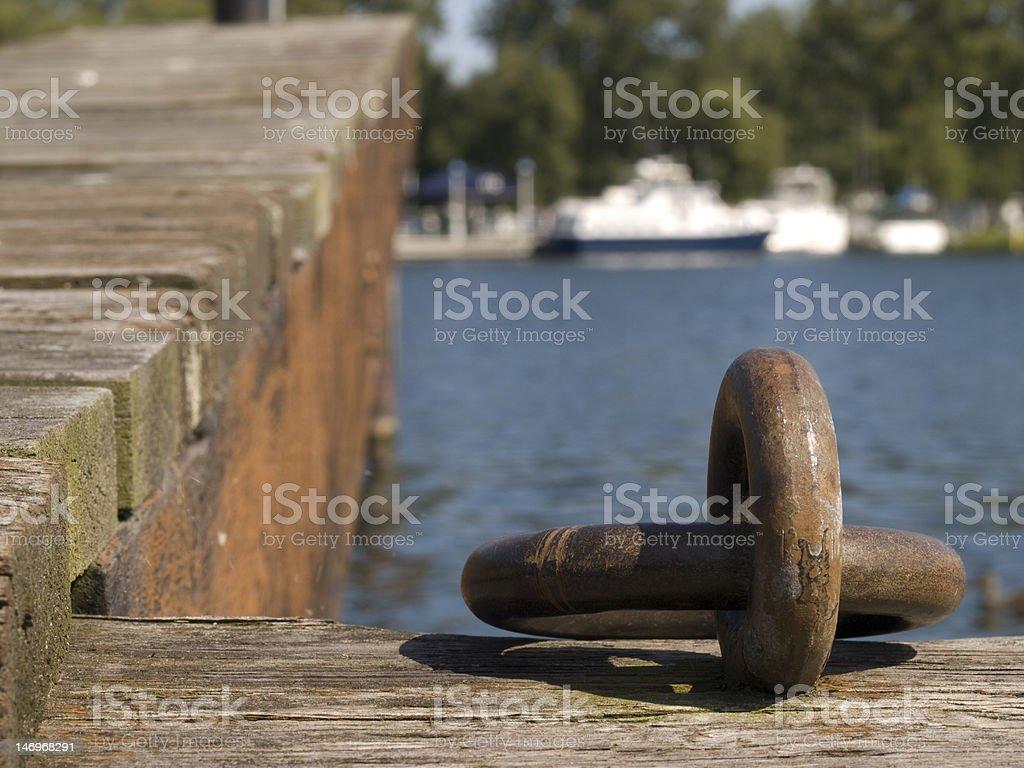 Boat Hooks royalty-free stock photo