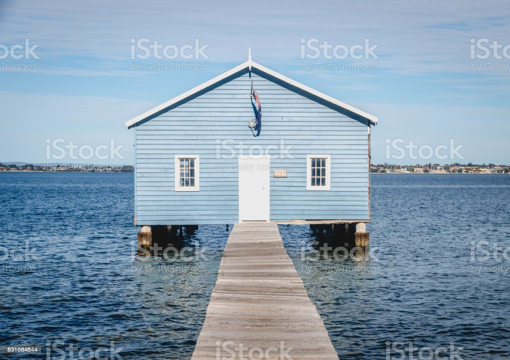 Boat House Close Up stock photo