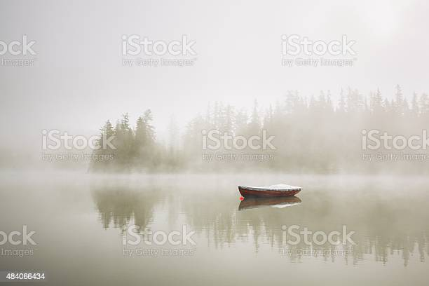 Photo of Boat in mysterious fog
