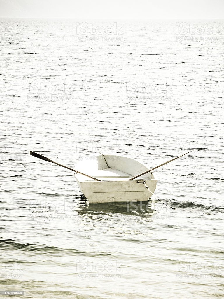 boat in the water royalty-free stock photo
