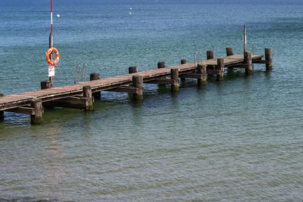 Schiffstation Bade-Leitern und Rettungsring – Foto