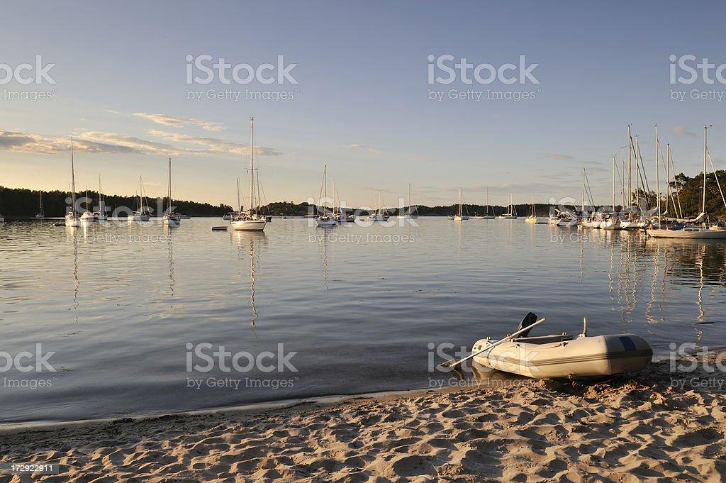 Boat life royalty-free stock photo