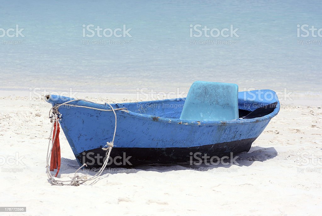 Boat longing royalty-free stock photo