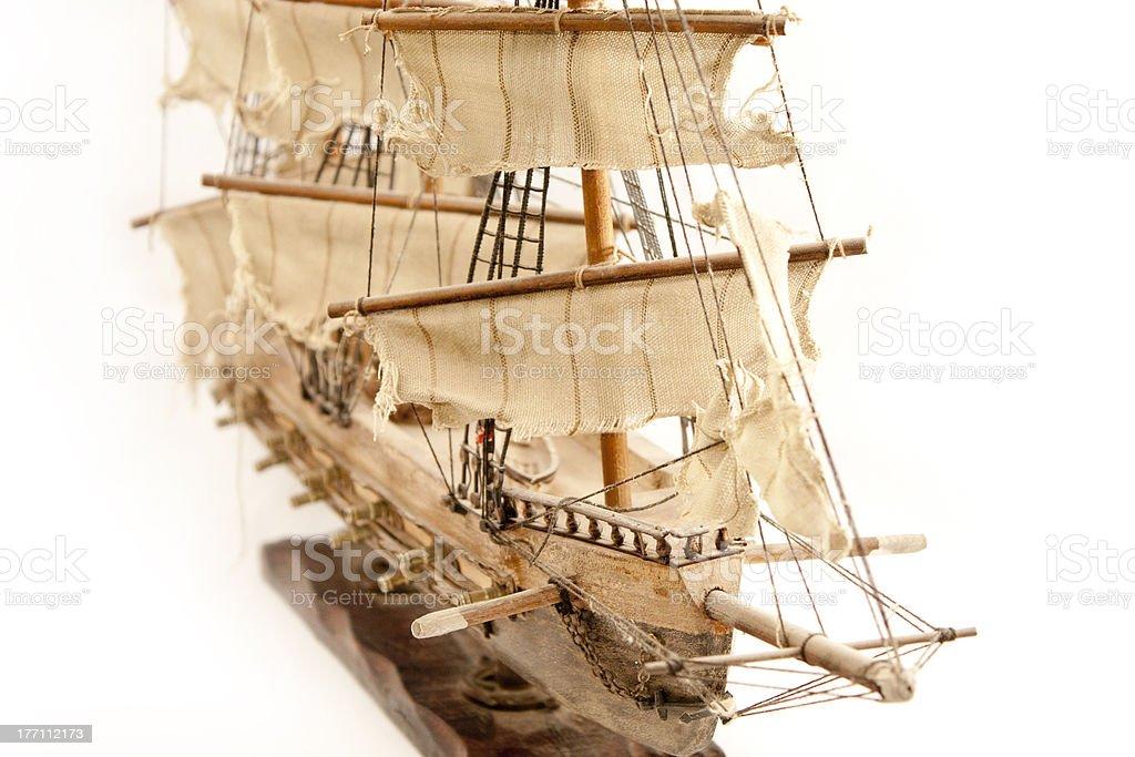 Boat model royalty-free stock photo