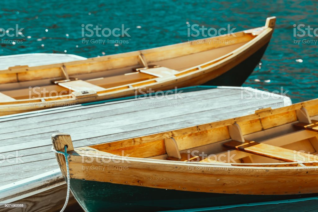 Boat Mohonk Mountain House stock photo