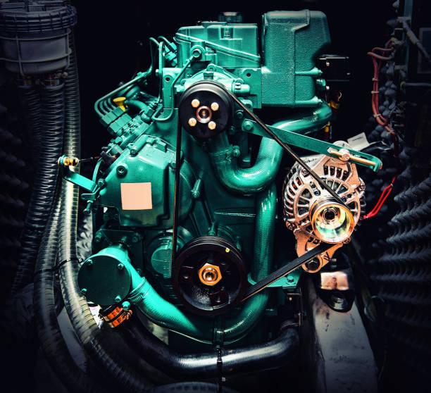 Boot-motor – Foto