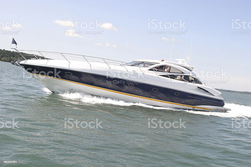 Boat of Speed royalty-free stock photo