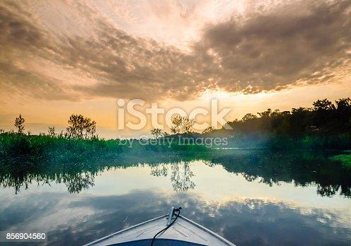 istock Boat on Amazon in Brazil 856904560
