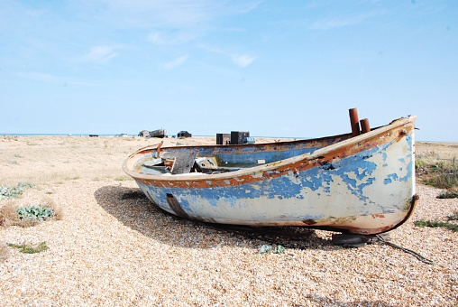 Boat on dungeness