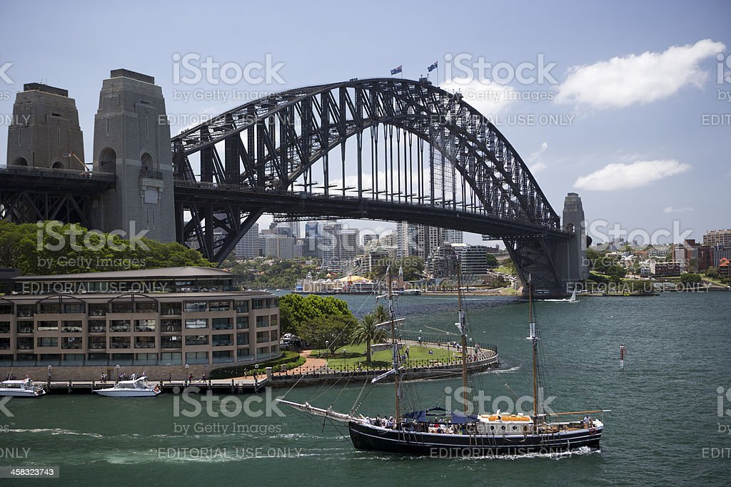 Boat on Harbour royalty-free stock photo