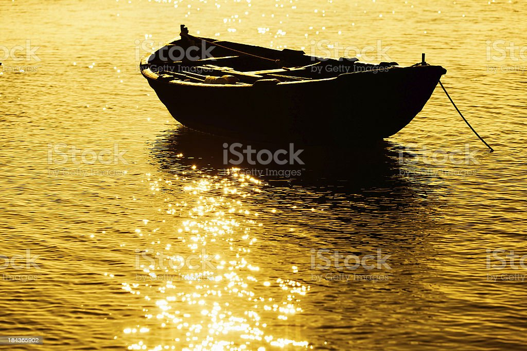 Boat on Lake royalty-free stock photo