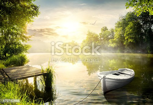 1094918172istockphoto Boat on the bank 479740866