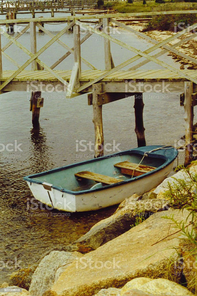MV Boat royalty-free stock photo