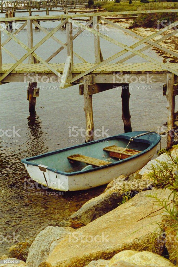 MV Boat stock photo