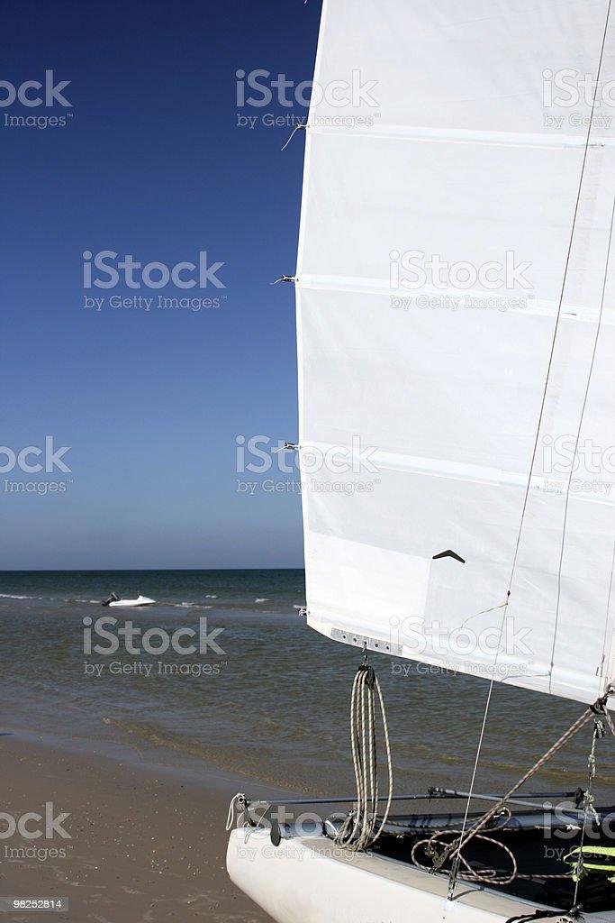 La barca foto stock royalty-free