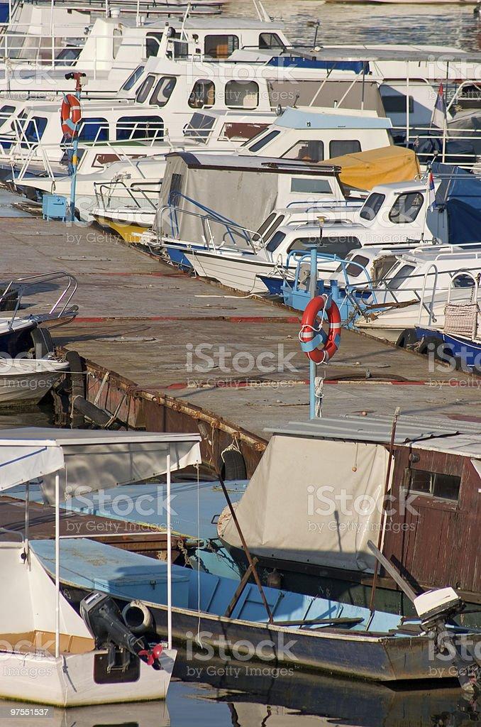Boat Pier royalty-free stock photo